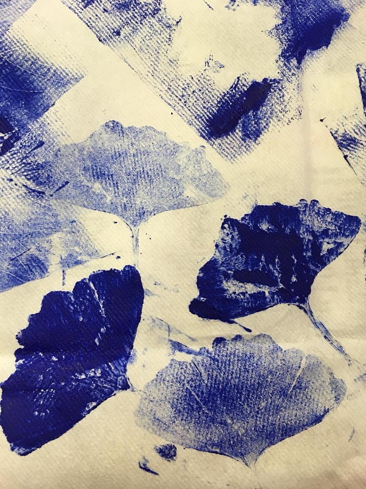 Come & Create: Nature inspired Block Printing image