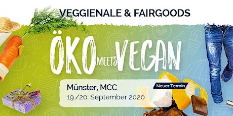 Veggienale & FairGoods Münster 2020 Tickets