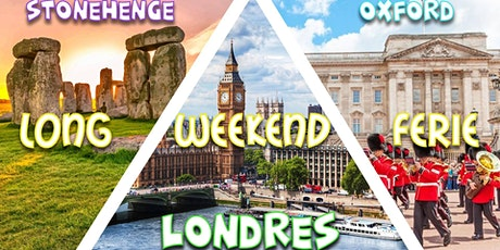 Long weekend férié ☼ Londres & Stonehenge, Oxford ※ billets