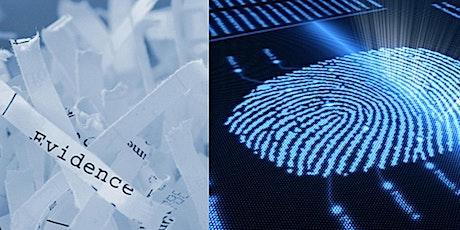 verplaatst FORENSISCH ONDERZOEK IN ACTIE  - Forensicon; Corporate Forensic Institute tickets