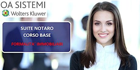 Corso Base Suite Notaro | Formalità Immobiliari biglietti
