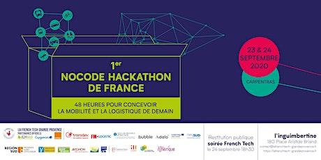 Nocode hackathon : concevoir la mobilité et la logistique de demain billets