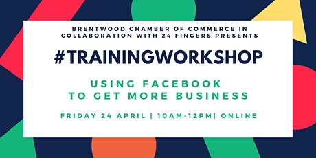 Training Workshop: Using Facebook To Get More Business  tickets