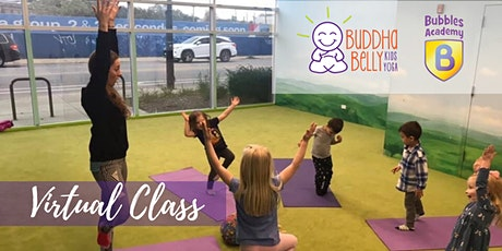 Virtual Class: Family Yoga with Buddha Belly Kids Yoga tickets