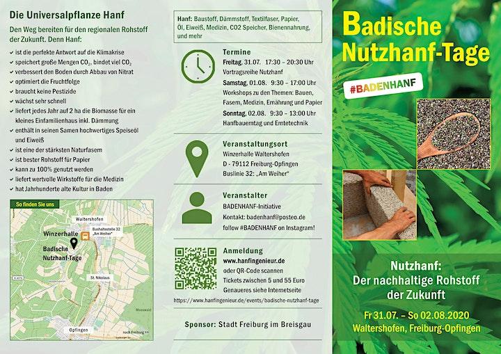 Badische Nutzhanf-Tage: Bild