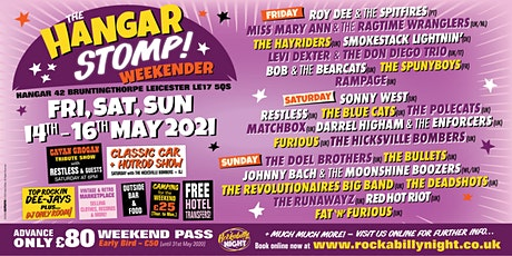 The Hangar Stomp - Weekender tickets