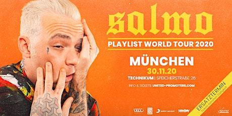 SALMO - Playlist Tour 2020 in München Tickets
