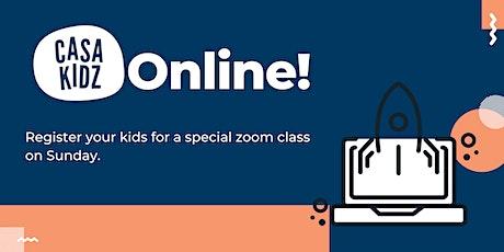 Casa Kidz Online Service tickets