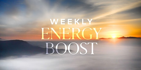 Weekly Energy Boost - April 21st tickets