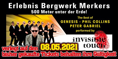 Phil Collins & Genesis - performed by Invisible Touch // Merkers Tickets