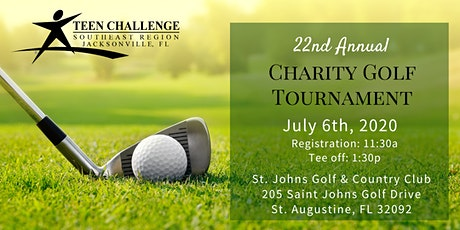 Teen Challenge Jacksonville 22nd Annual Charity Golf Tournament tickets