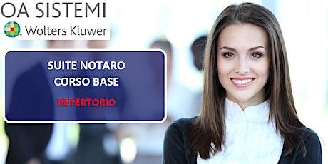 Corso Base Suite Notaro | Repertorio biglietti