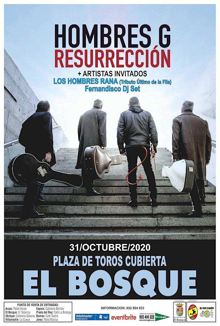 Imagen de HOMBRES G RESURRECCIÓN en EL BOSQUE ( CÁDIZ )
