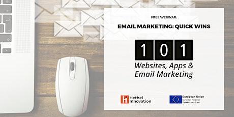 Webinar: Email Marketing - Quick Wins tickets