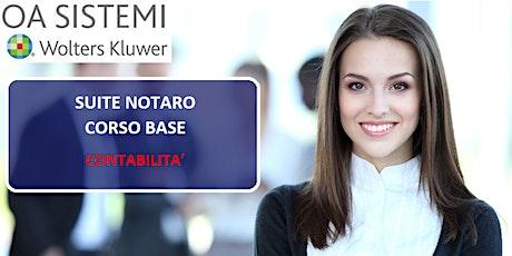 Corso Base Suite Notaro | Contabilità biglietti