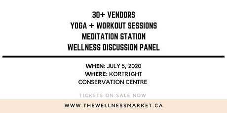 The Wellness Market Summer 2020 tickets