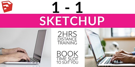 1-1 SketchUp training: 2hrs of distance training and problem solving tickets