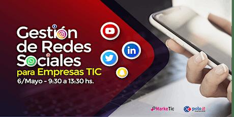 Curso de Gestión de Redes Sociales para TICs entradas