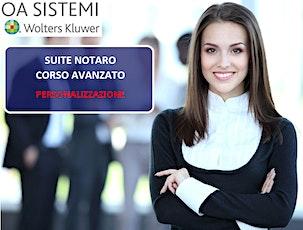 Corso Avanzato Suite Notaro | Personalizzazione biglietti