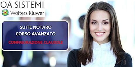 Corso Avanzato Suite Notaro | Configurazione Clausole biglietti