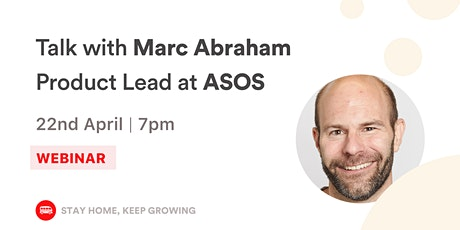 [WEBINAR] From law to ASOS, how to change career and lead a product team tickets