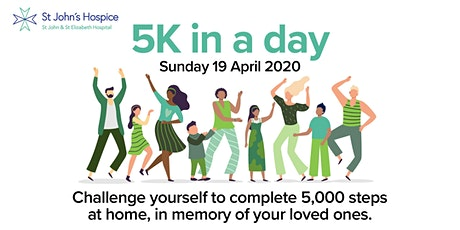 5K In A Day challenge! Raising funds for St John's Hospice tickets