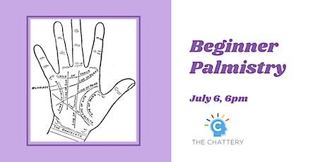 Beginner Palmistry tickets