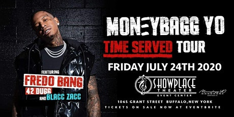 """MoneyBagg Yo Time Served Tour. 21 &  Up Event"""" tickets"""