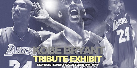 NEW DATE : KOBE BRYANT ART TRIBUTE EXHIBIT tickets