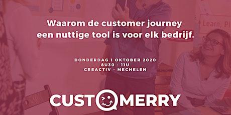 Waarom de customer journey een nuttige tool is voor elk bedrijf. tickets