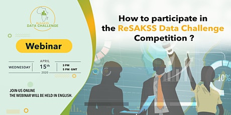 ReSAKSS Webinar: How to participate in the ReSAKSS Data Challenge? tickets
