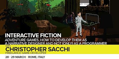 Workshop Interactive Fiction biglietti