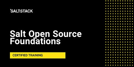 Salt Open Source Foundations tickets