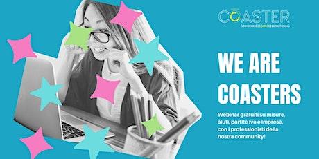 2. WEBINAR // #CuraItalia, lavoratori autonomi e liberi professionisti biglietti