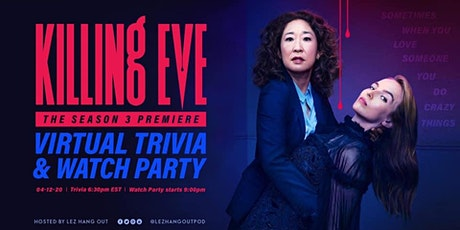 Killing Eve Season 3 Premiere Virtual Trivia and Watch Party tickets