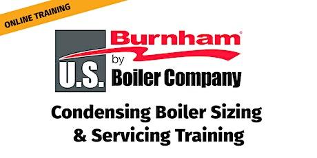 US Boiler Condensing Boiler Sizing & Servicing Training - Webinar tickets