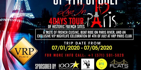 4th of July in Paris! (A Celebration of America's Independence Day) tickets