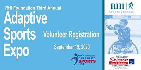 2020 Adaptive Sports Expo Volunteer Registration tickets