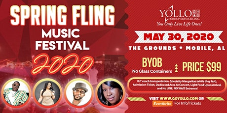 Spring Fling 2020 Mobile tickets