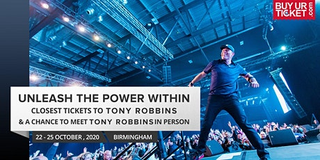 Tony Robbins UPW 2020 UK | Solitaire Tickets & Get Premium Experience tickets