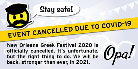 2020 New Orleans Greek Festival tickets