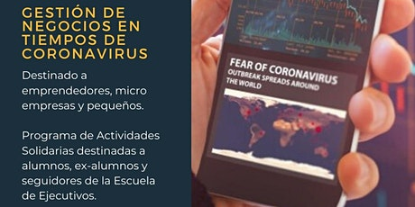 Gestión de Negocios en tiempos de Coronavirus entradas