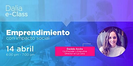 Webinar: Emprendimiento con impacto social entradas