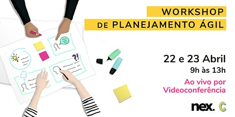 Workshop de Planejamento Ágil - Online ingressos