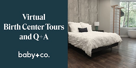 Virtual Birth Center Tour and Live Q+A tickets
