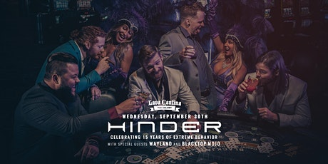Hinder w/ Special Guests Wayland and Blacktop Mojo [Rescheduled Date] tickets