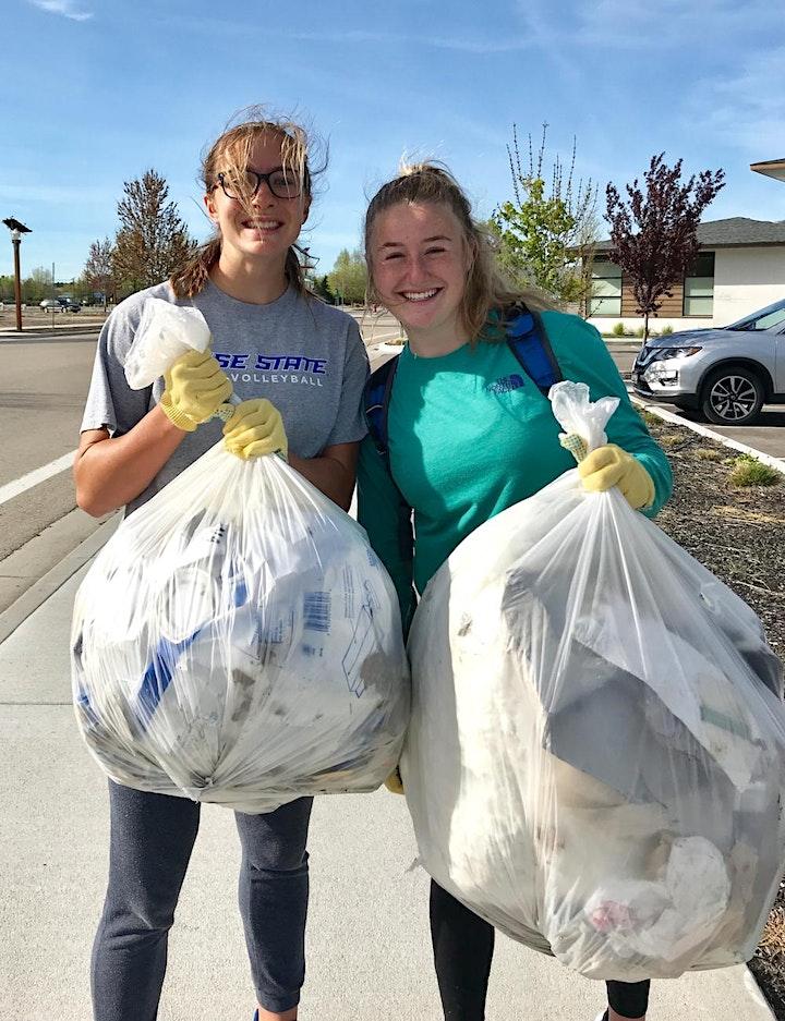 Make It Pretty Boise River Clean Up image