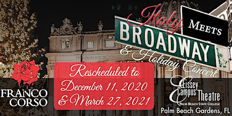 Italy Meets Broadway & Holiday Concert tickets