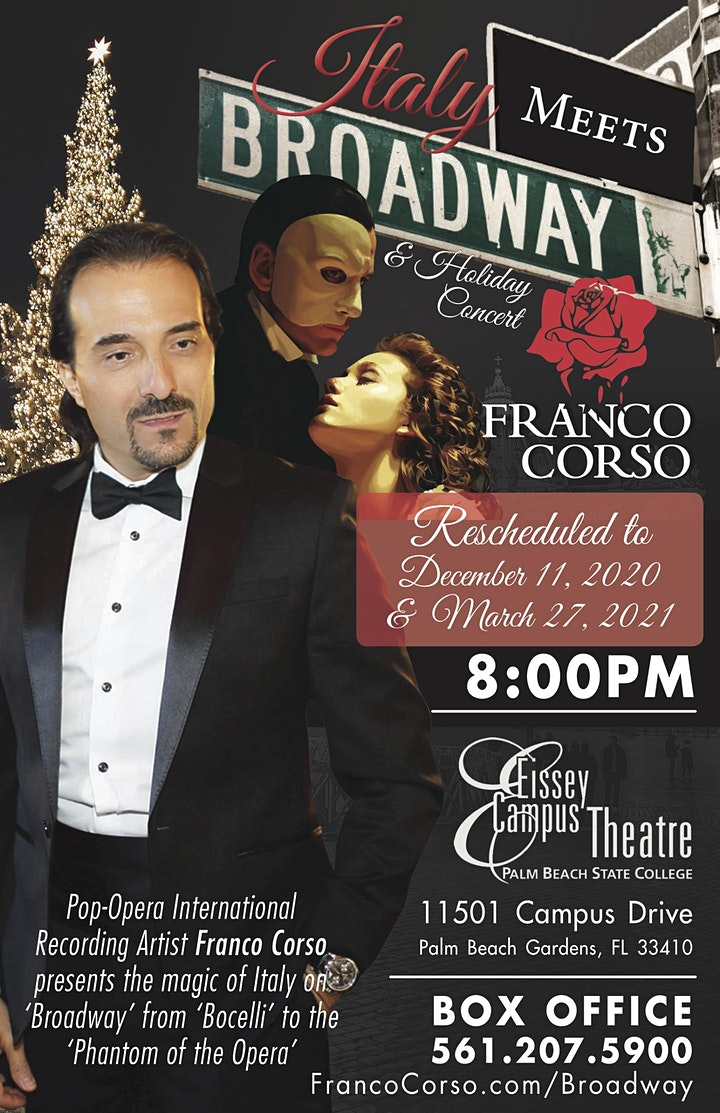 Italy Meets Broadway & Holiday Concert image