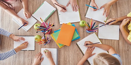 Writing Camp at SCC  /  Lunch provided  /  Grades 3-6 (School Year 2020-21) tickets